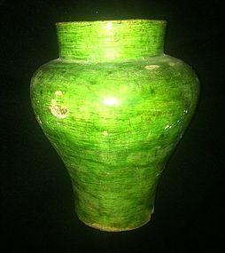 Chine green glaze of Liao Dynasty