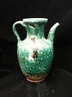 Chinese green glaze ewer