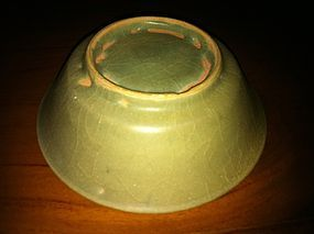 Chinese Song Dynasty longquan celadon brush washer