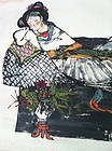 Chinese ink painting by Famous Cheng Shifa
