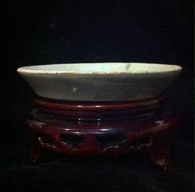 Rare Chinese Five Dynasties Yue Kiln celadon washer