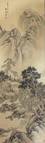 Antique Chinese Painting of landscape