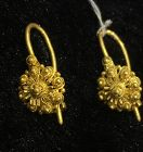 Nyonya peranakan gold earrings