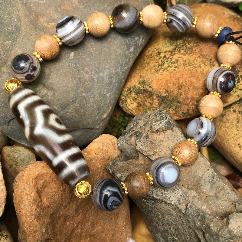 Ancient style beaded bracelet
