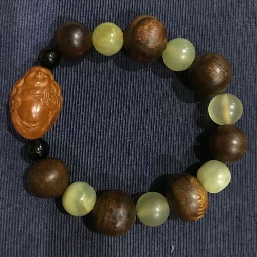 Laughing Buddha Beaded bracelet