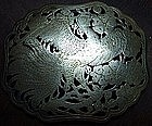 Straits Chinese Silver Buckle Head