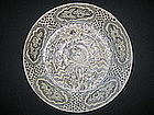 Ming Swatow Blue And White Shipwreck Plate