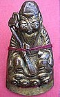 Chinese Gilt Immortal Figurine of Longevity