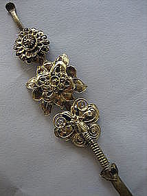 Chinese Gilt Sillver Hairpin of Butterfly
