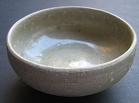 Northern Sung Green Glaze Celadon Tea Bowl