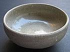 Northern Sung Green Glaze Celadon Tea Bowl