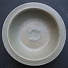 Sung Guan Type Celadon Washer with Twin Fish