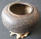Chinese  Black Glaze Brush Washer