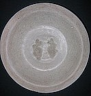 Sung Twin Fish Celadon Plate