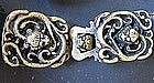Antique Bronze Buckle Belt of Qing Dynasty