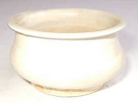 Late Ming Early Qing Blanc de Chine Censer