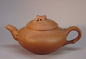 CHINESE YIXIN TEA POT