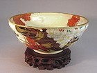 JAPANESE MID-20TH CENTURY CERAMIC BOWL