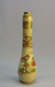 JAPANESE 19TH CENTURY SATSUMA VASE