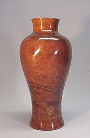 18TH CENTURY CHINESE PEKING GLASS VASE