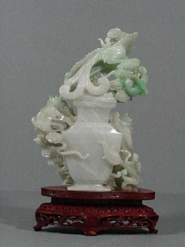 Jade Covered Jar