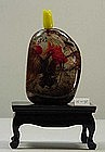 Inside Painting Hair Crystal Snuff Bottle
