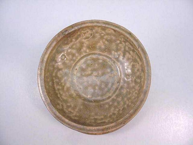 3-Leged Glazed Lamp Base(Yue Ware)