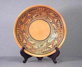 Hopi Low Bowl by Marcella Kahe