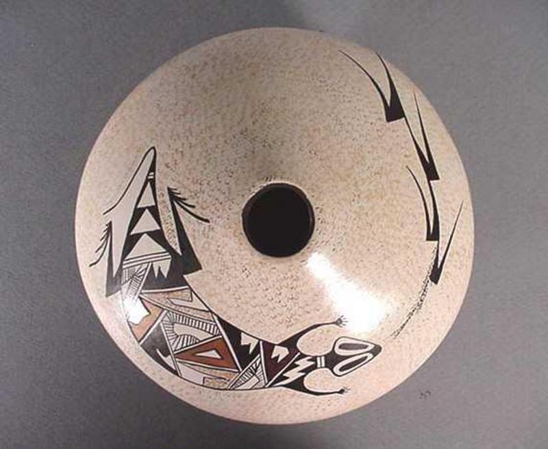 Hopi pot by Sylvia Naha