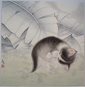 Original Chinese Brush Painting by Chen Liang