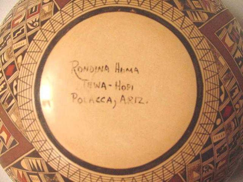American Indian Tewa-Hopi Jar