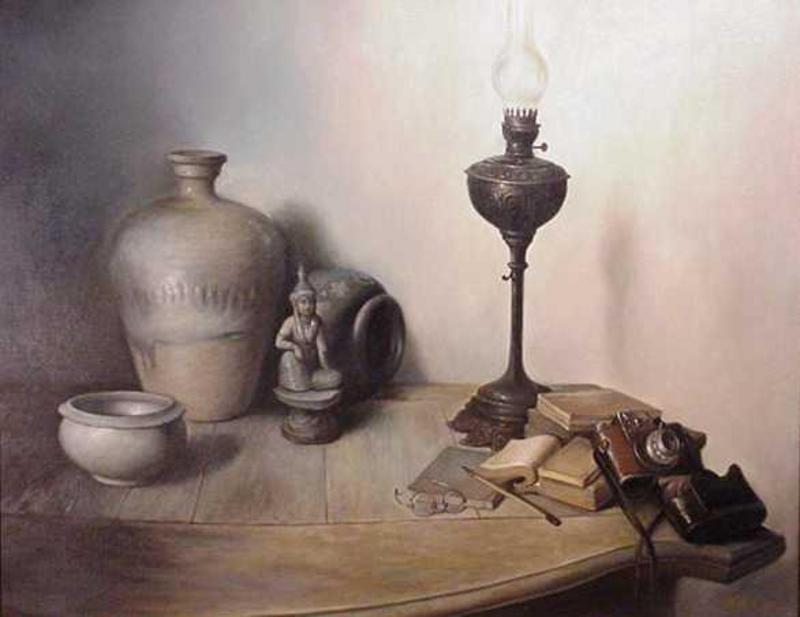 Chinese Oil Painting by Xu Feng-Yun