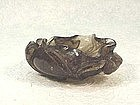 19th Century Chinese Topaz Brush Washer