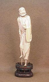Chinese Ivory Statue