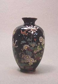 LATE 19TH CENTURY JAPANESE CLOISONNE VASE