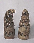 CHINESE LATE 19TH CENTURY BAMBOO CARVINGS