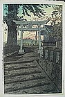 JAPANESE WOODBLOCK PRINT BY SHIRO