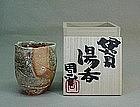 Contemporary yunomi (tea cup) by Fujioka Shuhei