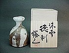 Contemporary tokkuri (sake bottle) by Kako Katsumi