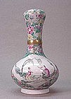 LATE 19TH C. CHINESE GARLIC HEAD VASE