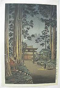 JAPANESE WOODBLOCK PRINT BY KOITSU