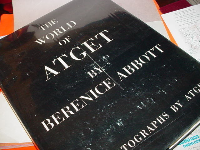 The World of Atget ~ Berenice  Abbott~ 1964