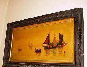 19th Marine Scene~ John Robinson Tait  (1834-1909)