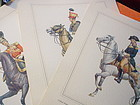 Three Military Prints  British~ American~Austrian