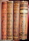 19thC ~ Four Volume Set of Bret Harte Books