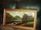 Early 20thC Pastel ~ Landscape
