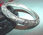 Hindu Sterling Figural Bangle