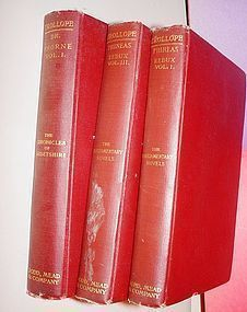 Two Vols. Parliamentary Novels + Chronicles of Barsetshire~Trollope