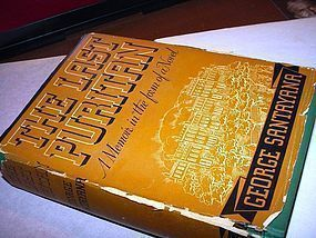 1st Ed ~The Last Puritan~George Santayana  1936