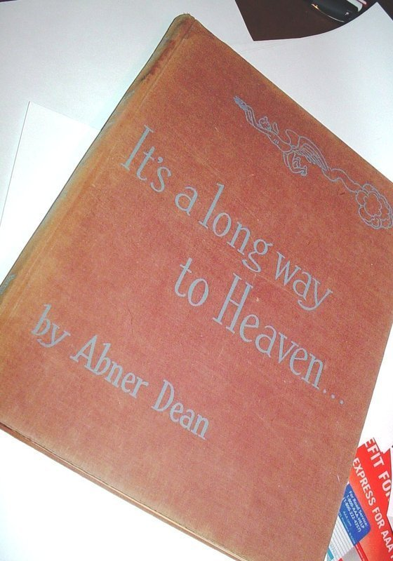 1stED ~It's a long way to Heaven ~ Abner Dean 1945~Cartoons
